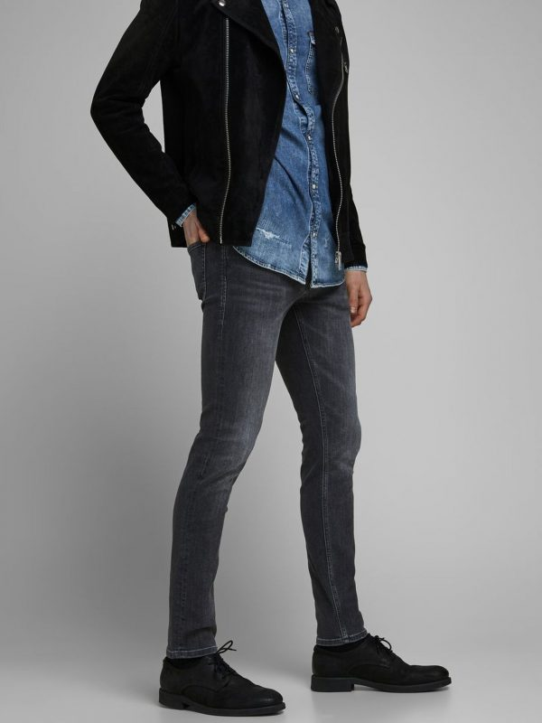 Denim Jack & Jones Slim Fit Jeans Charcoal
