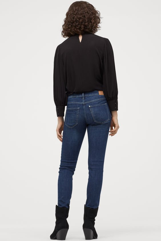 Super Skinny Low Jeans H&M Original