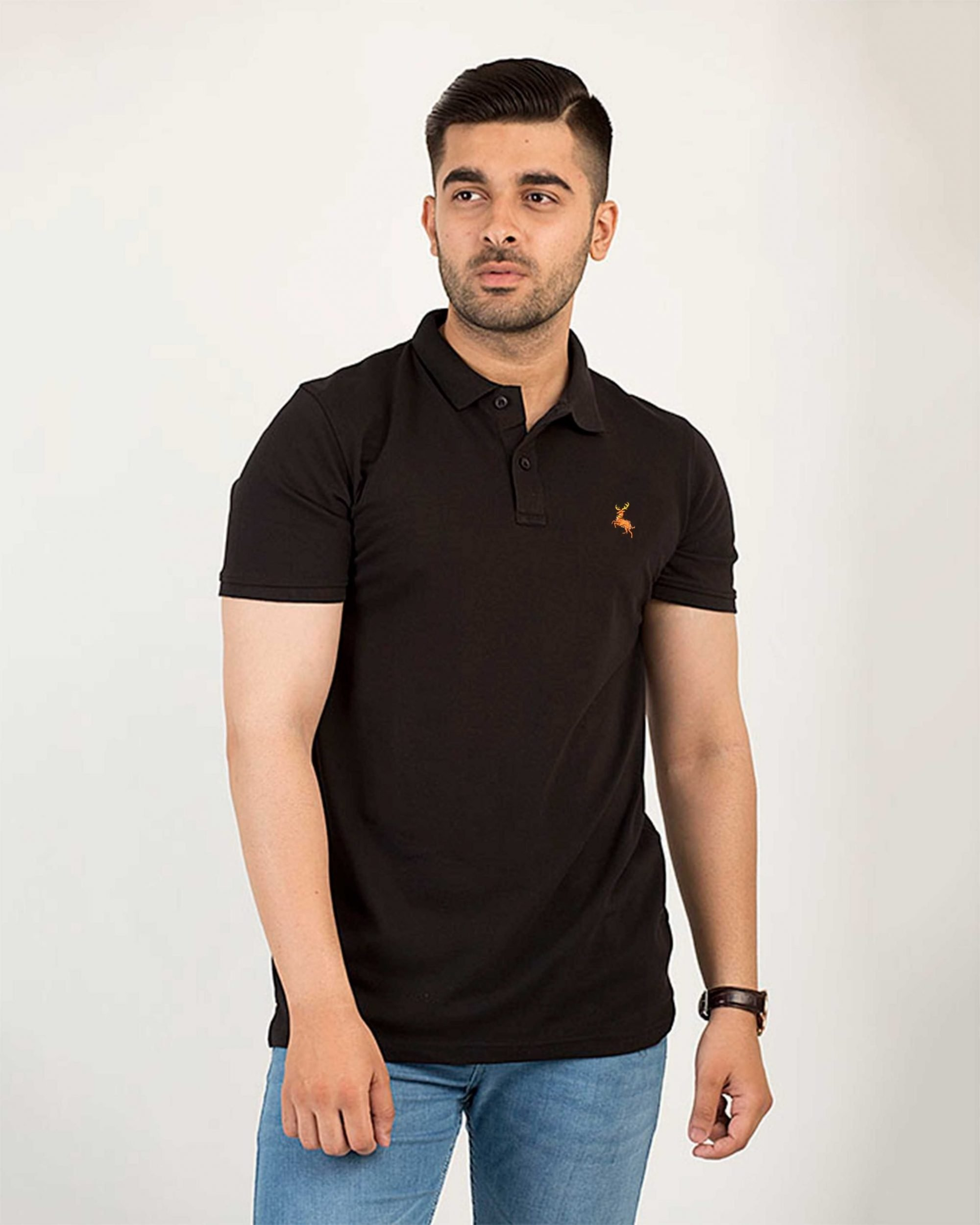 Ace Deer Stretch Polo