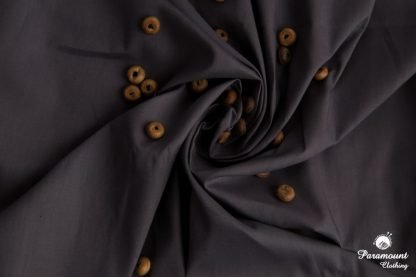 Dark grey 100% Premium Combed Cotton