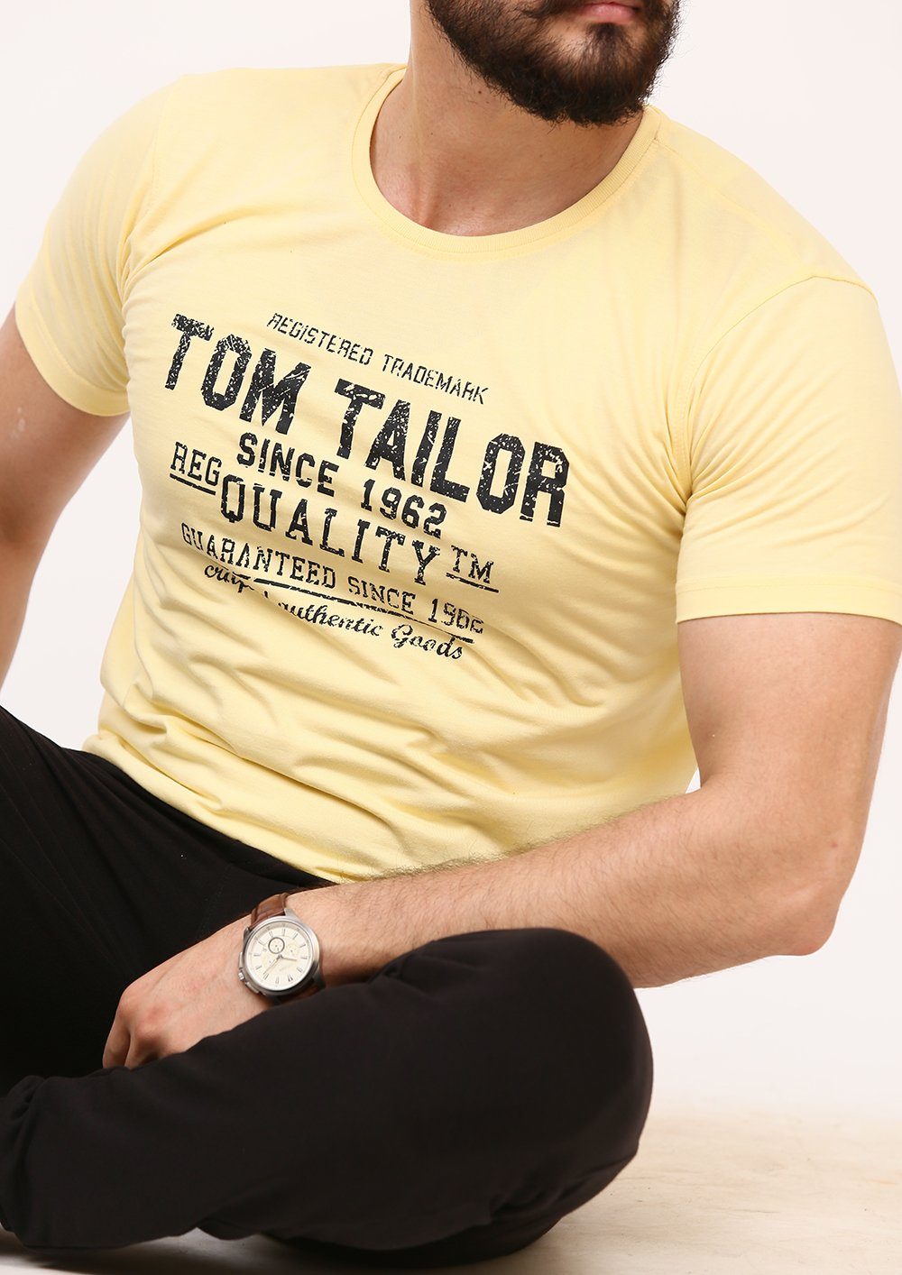 Tom Tailor Printed Crew Neck