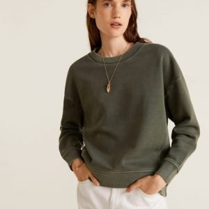 MNG Distressed Effect Sweatshirt