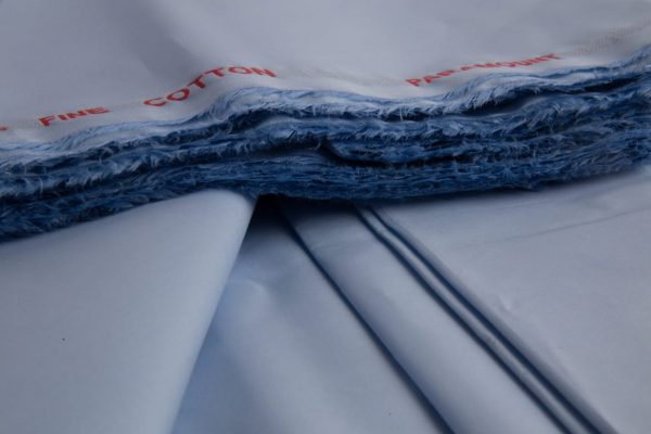 Sky Blue 100% Premium Combed Cotton