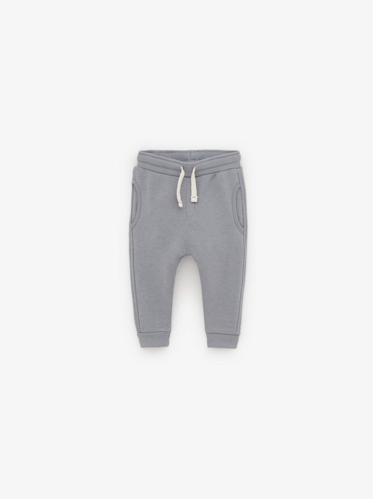 ZARA (Orignal) GREY BASIC PLUSH TROUSERS (Copy)